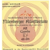 Nurnberger (645457) struny do chordofonu smyczkowego -Set - Menzura 37cm