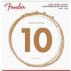 Fender 860L Phosphor Bronze Dura Tone Coated 12-53 acoustic guitar strings