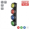 OCTO Sunbar 4x30W 4in1 COB RGBW 4 sections Mk2