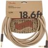 Fender Festival Pure Hemp Natural guitar cable 5,6 m/ 18,6ft