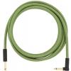 Fender Festival Pure Hemp Green guitar cable 3 m / 10 ft