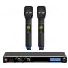 Novox Free PRO H2 mikrofon bezprzewodowy podwójny doręczny, pasmo 630-668 MHz