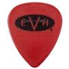 EVH Signature Guitar Picks, Red/Black, 1.00mm, 6 count