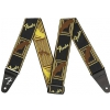 Fender Monogrammed B/Y/B  pasek