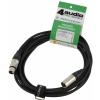4Audio MIC PRO 4m przewód mikrofonowy XLR-F - XLR-M z opaską, Neutrik