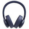 JBL Live 500BT on-ear wireless headphones, blue