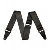 Fender 2″ Tooled Leather Guitar Strap BLK