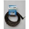 4Audio GT1075 4.5m Jack - lomený Jack nástrojový gitarový kábel, čierne jacky