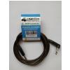 4Audio GT1075 3m Jack - lomený Jack nástrojový gitarový kábel, čierne jacky