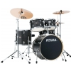 Tama IE50H6W Imperialstar + Meinl HCSB Set - Black Oak Wrap drum kit