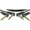 Prepojovací kábel Klotz AB JJA0090, 90 cm, TRS uhlový (2 ks)
