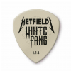 Dunlop HETFIELD′S WHITE FANG CUSTOM FLOW PICK 1.14MM (6-pack)