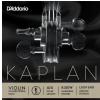 D′Addario Kaplan Golden Spiral Solo K301W Wound E String, 4/4 Scale, Medium Tension