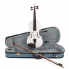 Stentor 1401WHF Harlequin Violin Outfit, White, 1/4