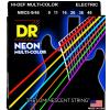 DR NMCE Neon Multi Color Electric Guitar Strings .09-46